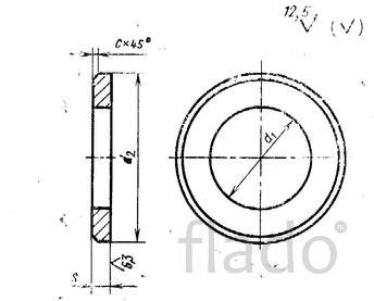 Шайбы для фланцевых соединений по ГОСТ 9065-75