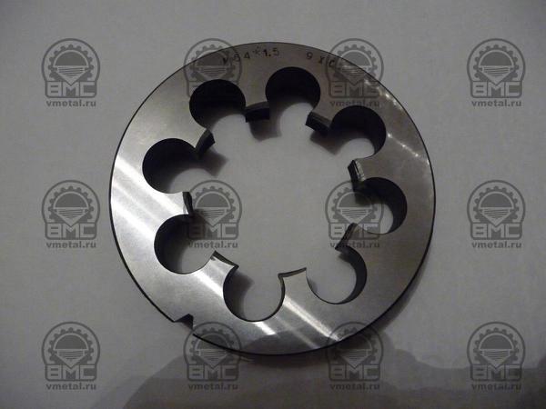 Плашка М75х1,5 для восстановления резьбы полуприцепа
