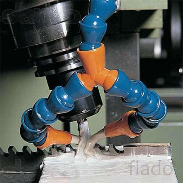 шарнирные шланги-трубки для подачи охлаждения для промышленных станков