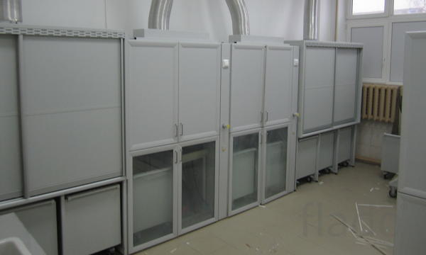 Шкаф для переливания кислот ШПК 1400x600x1900 мм
