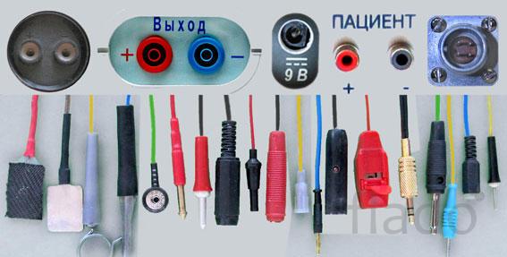 Кабели пациента, провода соединительные,  для физиотерапии