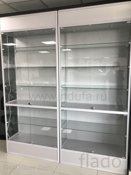 Стеклянные витрины в алюминиевом профиле под заказ