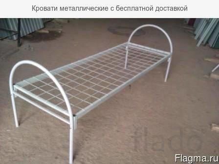 Кровати металлические для рабочих Кореновск