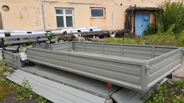 Продажа бортов на ГАЗ разных длин
