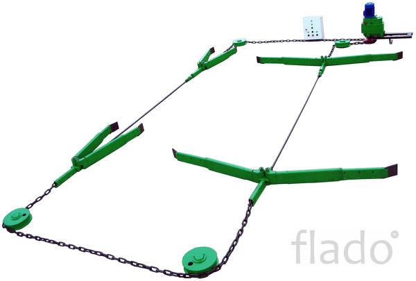 Скреперные установки УНС-1(170м) / УНС-2(250)