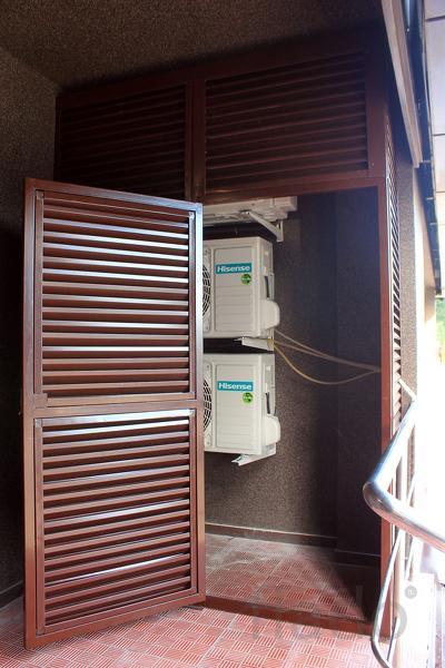 Жалюзийные решетки для ограждения вентиляции