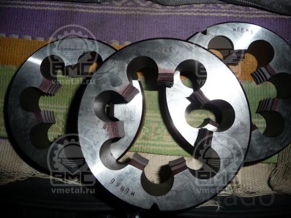 Плашка для нарезания резьбы М75х1,5