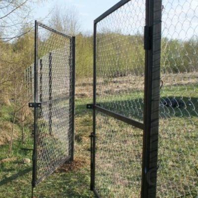 Продаем садовые металлические ворота от производителя