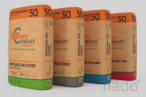 Цемент 500Д0, 500Д20, 400Д20 оптом от производителя