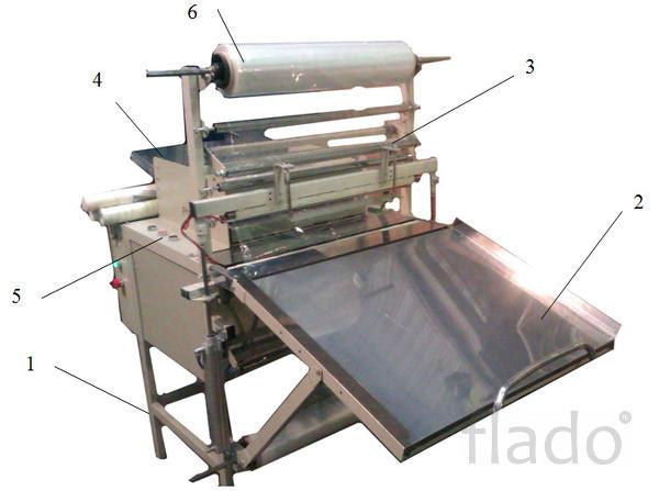 Оборудование (станок, машина) для упаковки , рулонов, обоев