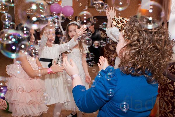 Мыльные пузыри в аренду на День рождения