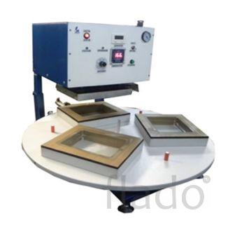 Машина (установка, оборудование) для припайки блистера к картону
