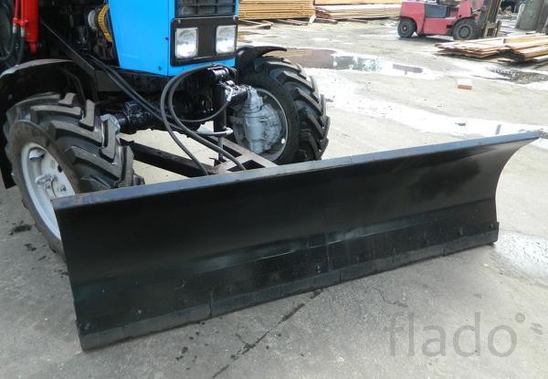 Отвал коммунальный снежный гидроповоротный МТЗ-921 ОС-2,4-06
