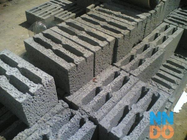 Блок керамзитобетонный