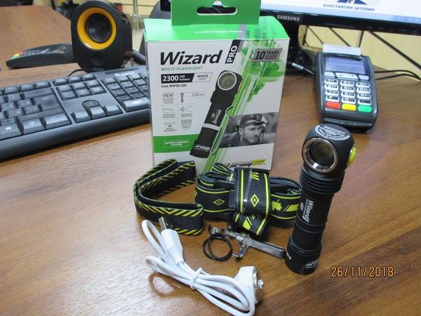 Фонарь Armytek Wizard Pro Magnet USB XHP50 (белый)