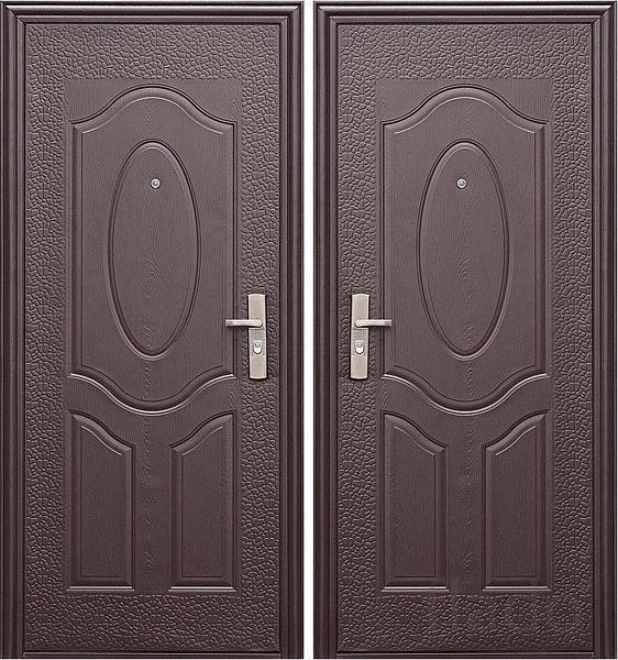 Металлические двери  с доставкой по всей области