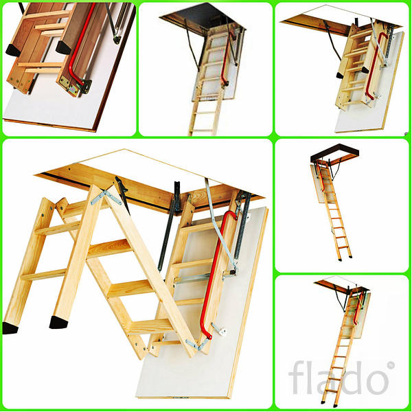 лестница мансардная чердачная
