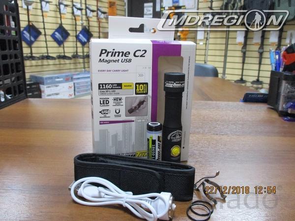 Фонарь Armytek Prime C2 Magnet USB XP-L(тёплый)