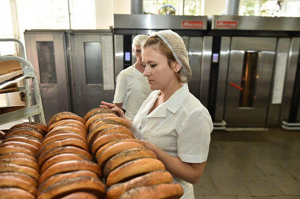 Грузчик-укладчик на хлебобулочное производство ( 33-120смен) с прожива