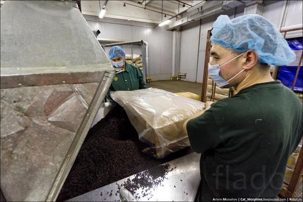 Оператор смешивания, миксования на производство чая (вахта)