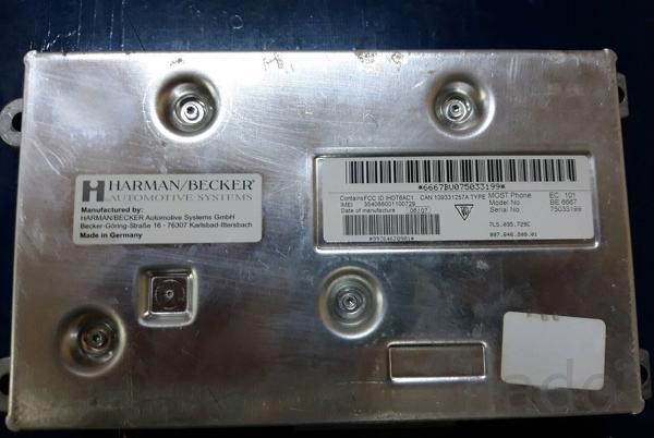 Телефон и блок порше кайен 955 957 Porsche Cayenne