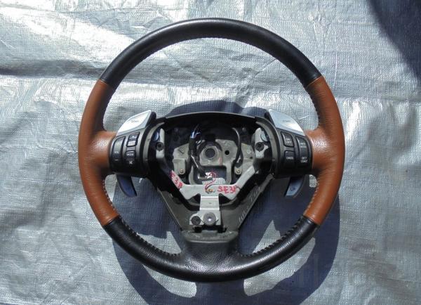 Руль Mazda RX-8 RX8 кожа