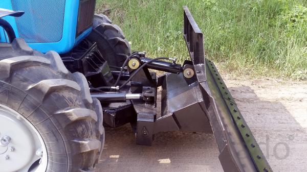 Отвал бульдозерный гидроповоротный ОБГ-1221