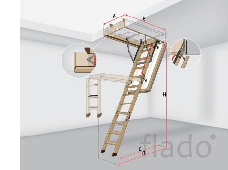 Суперэнергосберегающая чердачная лестница