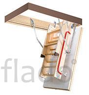 Складная деревянная чердачная лестница