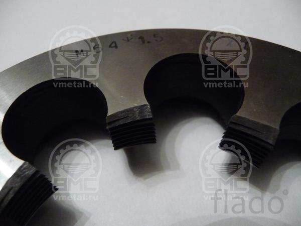 Плашка М75х1,5, ремонт разьбы на осях ROR, SAF, BPW