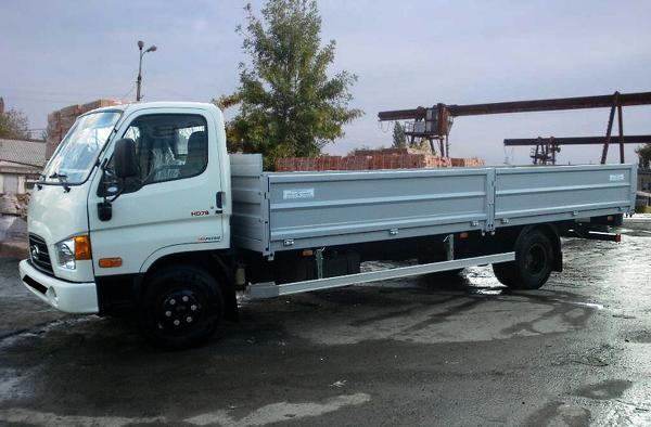 Бортовой грузовик до 5 тонн