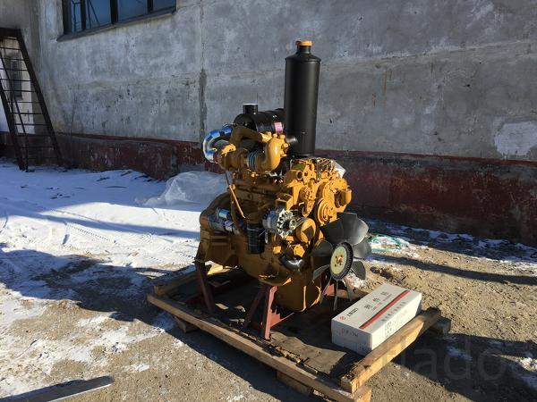 Двигатель Shanghai SC5D125G2B1 на каток XCMG XS142J