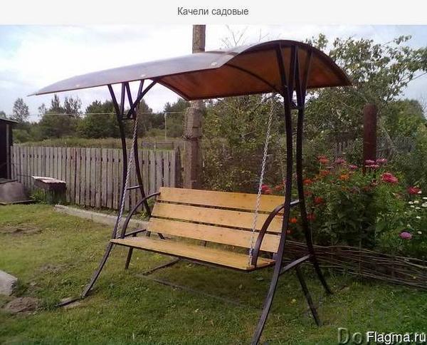 Уютные садовые качели в Черкесске