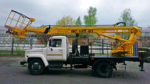 Аренда автовышки 18 м телескоп.в Ярославле