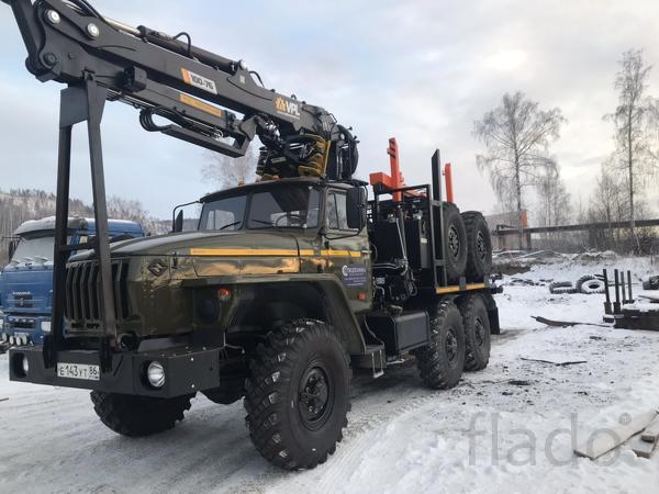 Лесовозы Урал 5557,ЯМЗ-236НЕ2  с новыми манипуляторами