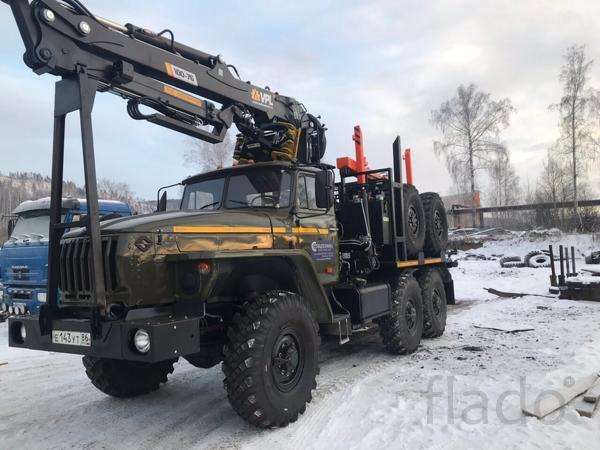 Лесовозы Урал капремонт 2019 г.в. с доставкой по РФ Гарантия