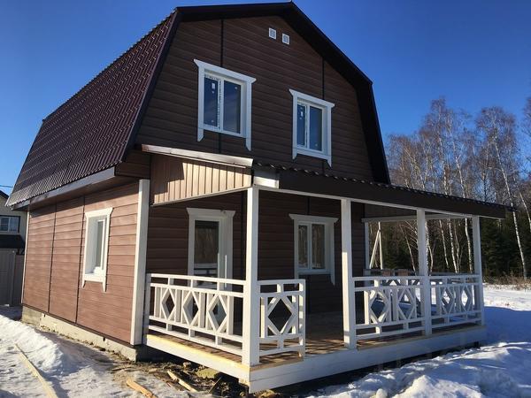 Дом 135 м² на участке 10 сот.