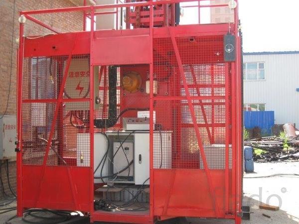 Подъёмник мачтовый грузо-пасажирский  SC200/200