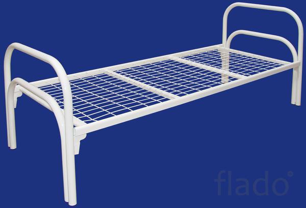 Односпальные металлические кровати, кровати Гост