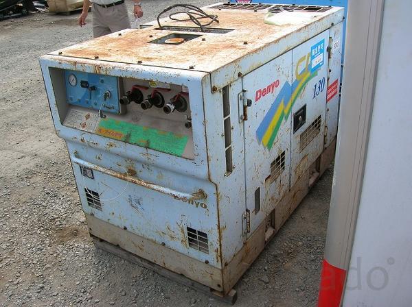 Дизельный компрессор DENYO DPS130SPB