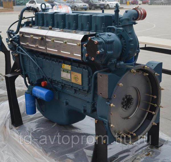 Двигатель Weichai WP10.340E32 на самосвал Shacman