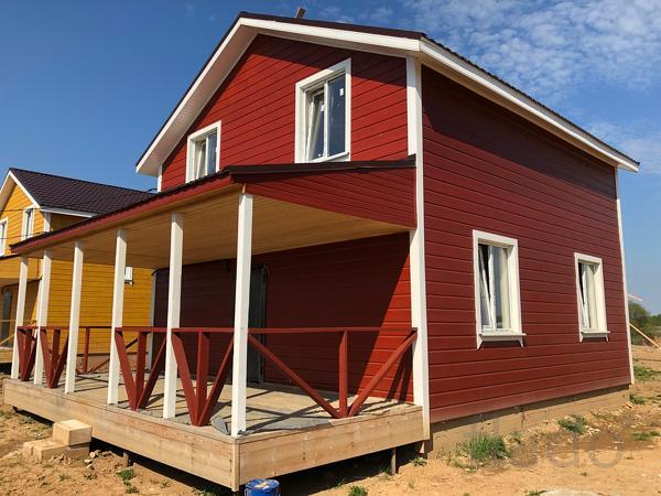 Дом 120 м² на участке 7 сот.