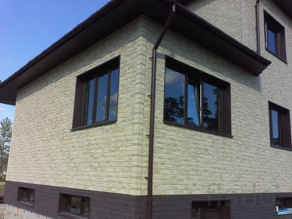 Фасадные панели фирмы Деке