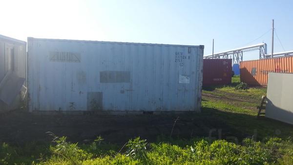 Продается контейнер 20 футов б/у DC