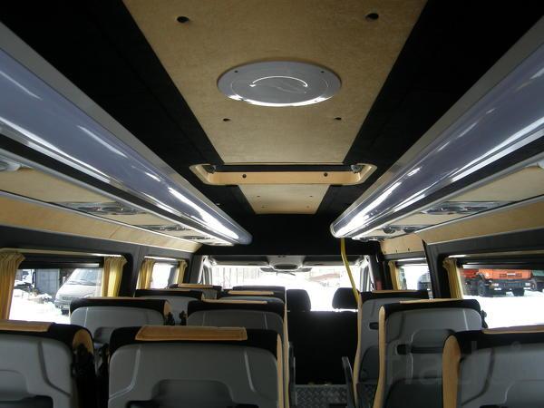 Доработка до туристического микроавтобуса Доработка до туристическо