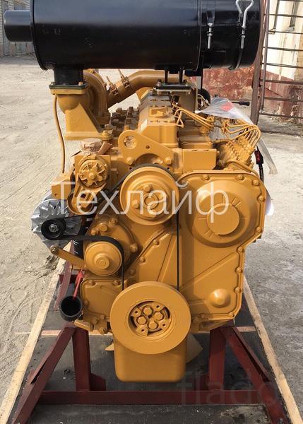 Двигатель Shanghai C6121ZG61B Евро-2 на погрузчик Foton FL966F.