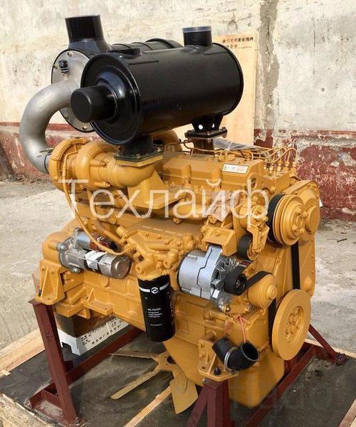 Двигатель Shanghai SC8D170G2B1/D6114ZG9B Евро-2 на грейдер XCMG GR165.