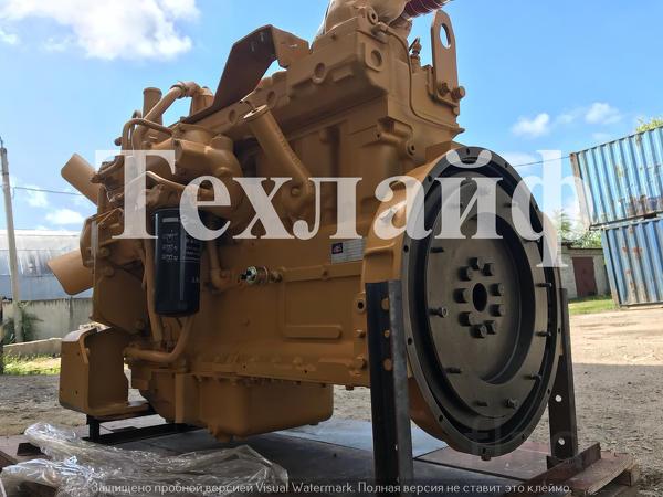 Двигатель Shanghai SC11CB240.1G2B1 Евро-2 на погрузчик Changlin 966/96