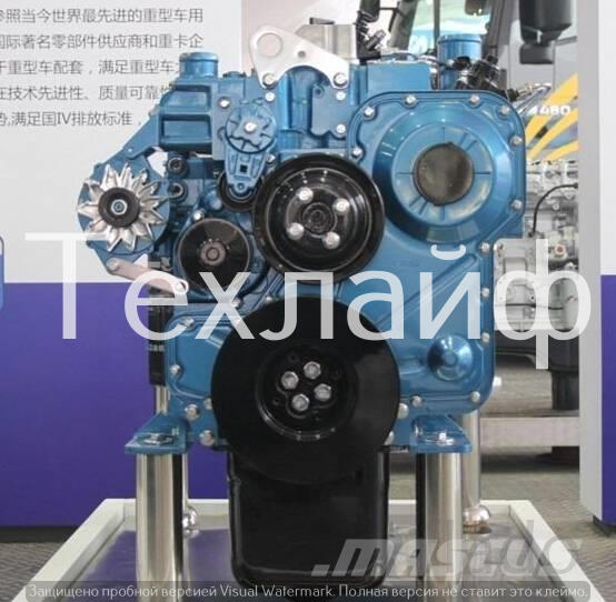 Двигатель Shanghai SC8DK230Q3 Евро-3 на автокрана XCMG QY16D.