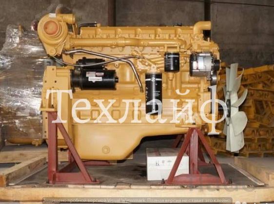 Двигатель Shanghai D6114ZG14B Евро-2 на грейдер XCMG GR180.